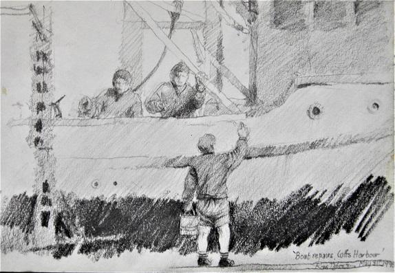 BOAT REPAIR Coffs Harbor Pencil 1998