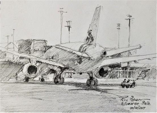 Tullamarine Airport Pencil 2017