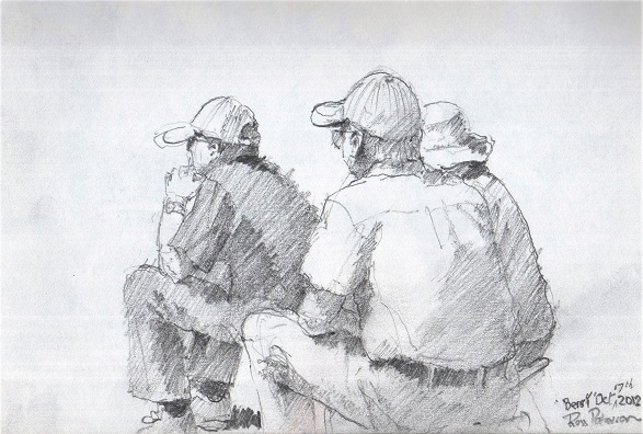 Spectators, at Renmark Pencil 2015
